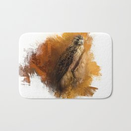 Expressions Red Tailed Hawk Bath Mat