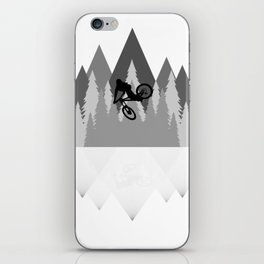 MTB Whip Gray iPhone Skin