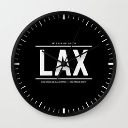 Los Angeles Time Wall Clock