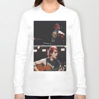 5 seconds of summer Long Sleeve T-shirts featuring 5 Seconds of Summer - Michael by Fan_Girl_Designs