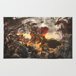 Noxian-Demacian war Rug