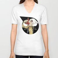 soul eater V-neck T-shirts featuring Soul Eater - Manga / Anime Series by Powlah C