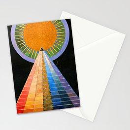 HILMA AF KLINT ALTARPIECE NO 1 RESTORED Stationery Cards