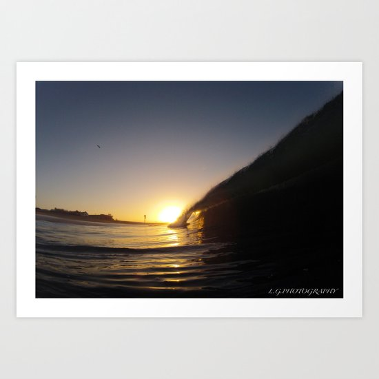 jah sunrise Art Print