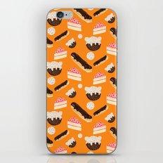 sweet things (on orange) iPhone & iPod Skin