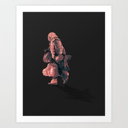 Never Arriving 3.0 Art Print