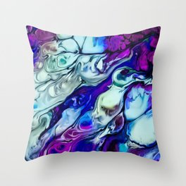 A Lethal Dose of Artwork Throw Pillow
