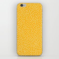 YELLOW DOTS iPhone Skin