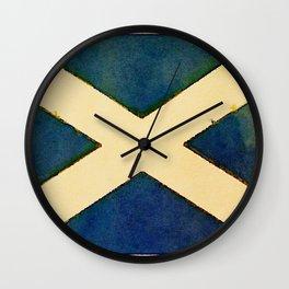 The Saltire Wall Clock