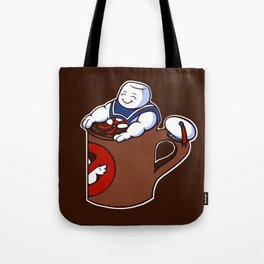 Cup of Stay Puft Tote Bag