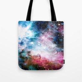 Carina Nebula : Colorful Galaxy Tote Bag