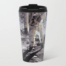 Apollo 11 - Buzz Aldrin On The Moon Travel Mug