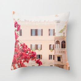 Springtime in Rome Throw Pillow