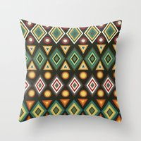 geo Throw Pillows featuring Geo by Sproot