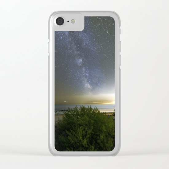 Milkyway at Pebble Beach Clear iPhone Case