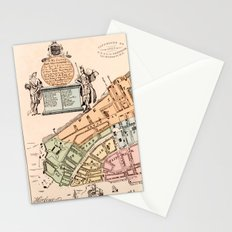 New York City 1728 Stationery Cards
