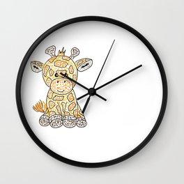 Tiny giraffe Wall Clock