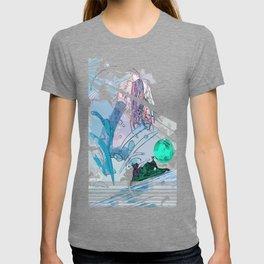 Psychedelic Mermaid T-shirt
