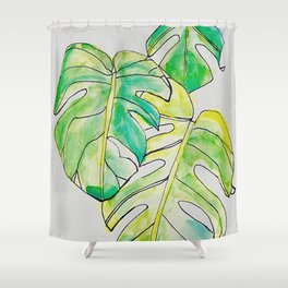 Tropical Ones Shower Curtain