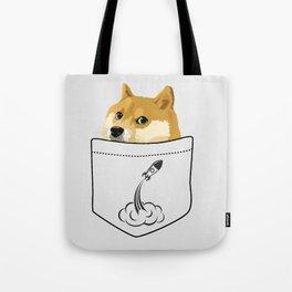 Doge pocket Tote Bag