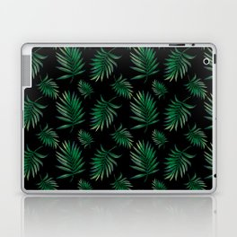 tropical palm leaves Laptop & iPad Skin
