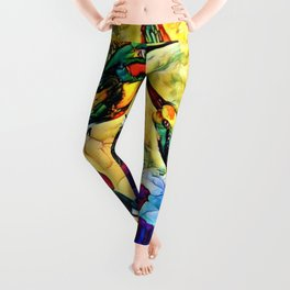 A Hummer Of A Summer Day Leggings