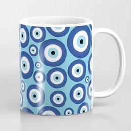 Greek Mati Mataki - Matiasma Evil Eye Pattern #2 Coffee Mug