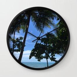 Queensland Australia beach Wall Clock