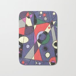 Abstract #747 Bath Mat