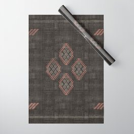 Kilim in Black and Pink Wrapping Paper