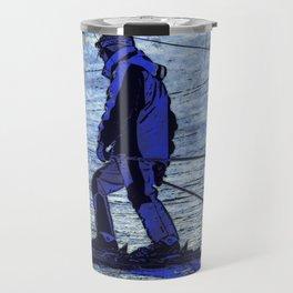 Sundown Skier Travel Mug