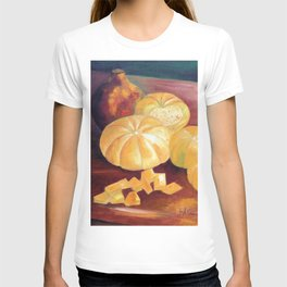 Composition with pumpkins T-shirt