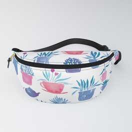 Plants in Pots | Red and Blue Fanny Pack