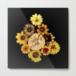 Giallo Botanical Metal Print