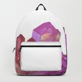 Red-purple Crystals Backpack