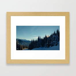 Coquihalla sunset Framed Art Print