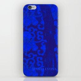 mon jardin bleu iPhone Skin