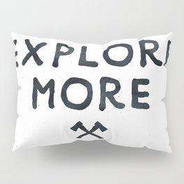 Explore More Quote Black and White Pillow Sham