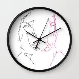 Left Right Patti Smith Wall Clock
