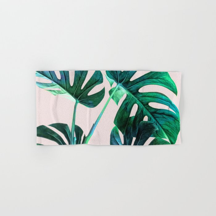 Wild Leaves Hand & Bath Towel