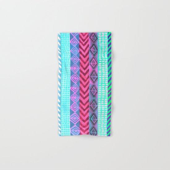 Tribal Pattern 04 Hand & Bath Towel