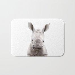 Baby Rhino Portrait Bath Mat