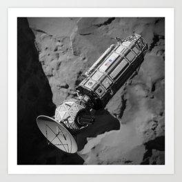 NASA JPL Comet Hitchhiker Art Print