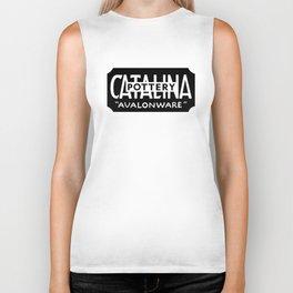 Catalina Avalonware - Black Biker Tank