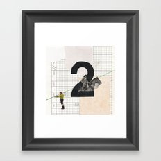 2 - Horse and strings Framed Art Print