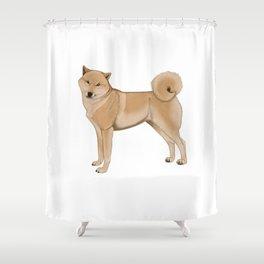 Shibe Shower Curtain
