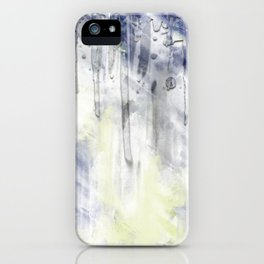 ABSTRACT ART Dream of Paint No. 001 iPhone Case