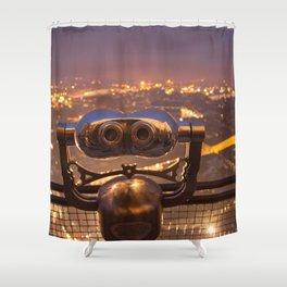 Night Watch Shower Curtain