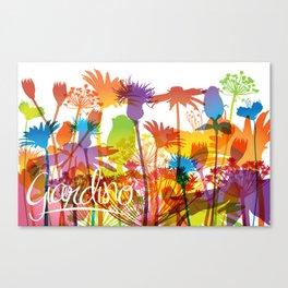 Giardino Canvas Print
