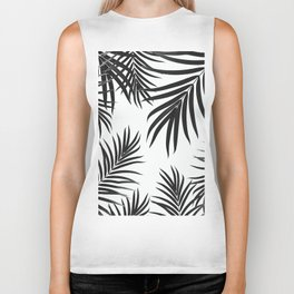 Palm Leaves Pattern Summer Vibes #2 #tropical #decor #art #society6 Biker Tank